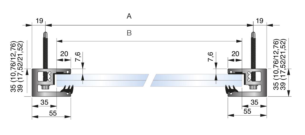 Franzosischer Balkon Glas Modere Ausfuhrung H1000mm