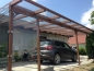 Preview: Carport mit Seitenteil