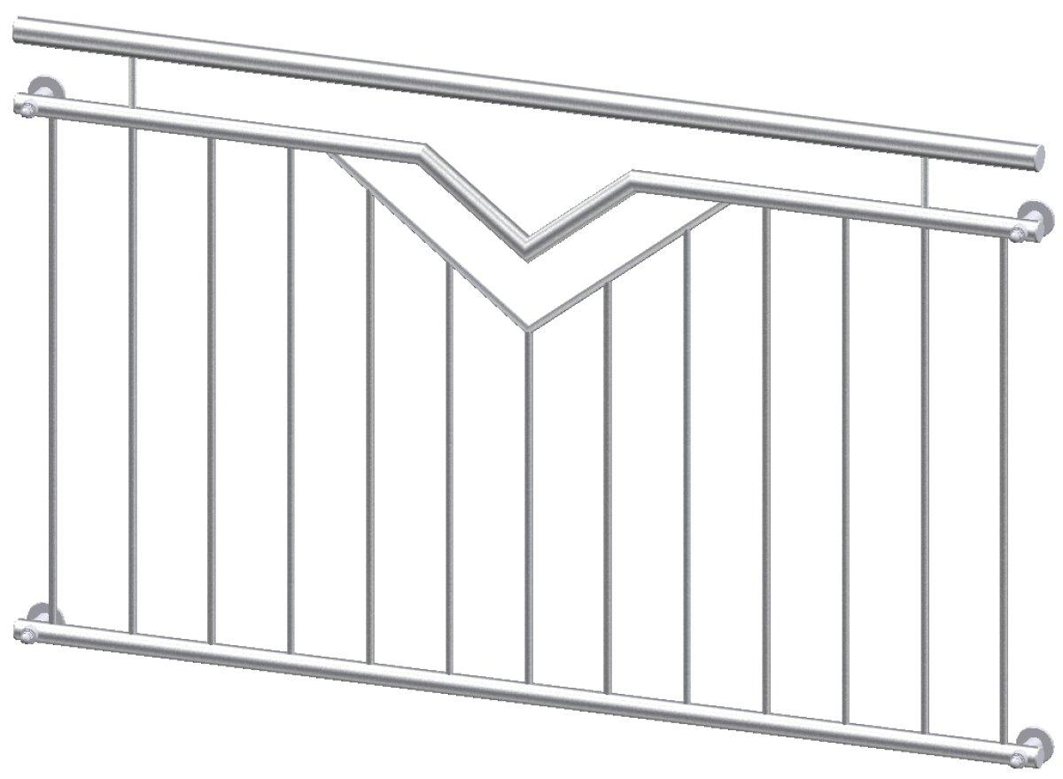 franz sischer balkon paris in edelstahl online g nstig kaufen. Black Bedroom Furniture Sets. Home Design Ideas