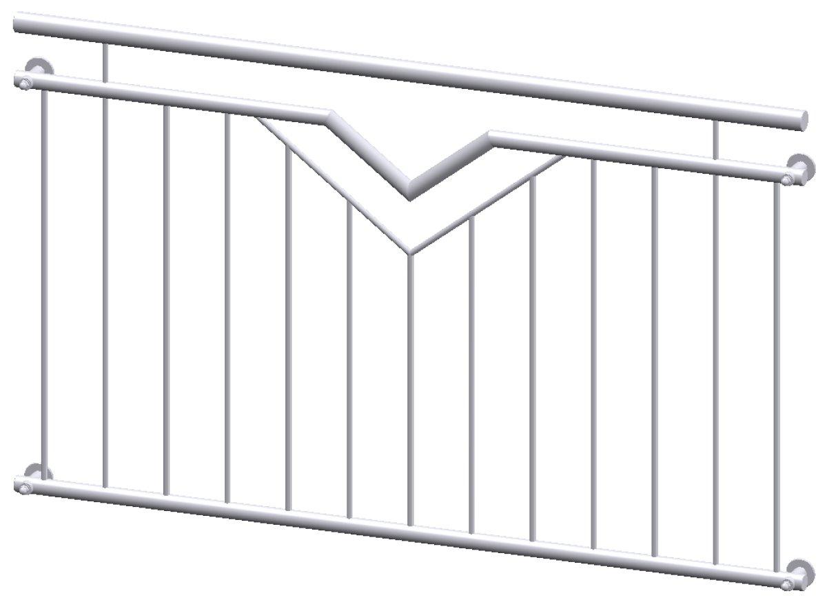 kirchberger metallbau franz sischer balkon doppelv paris. Black Bedroom Furniture Sets. Home Design Ideas