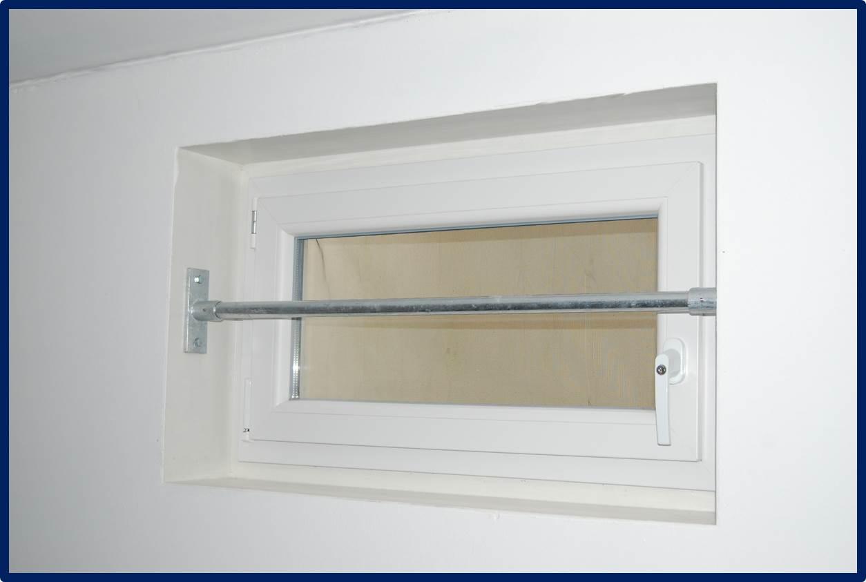 Fenstergitter Sicherheitsstange Security Bar