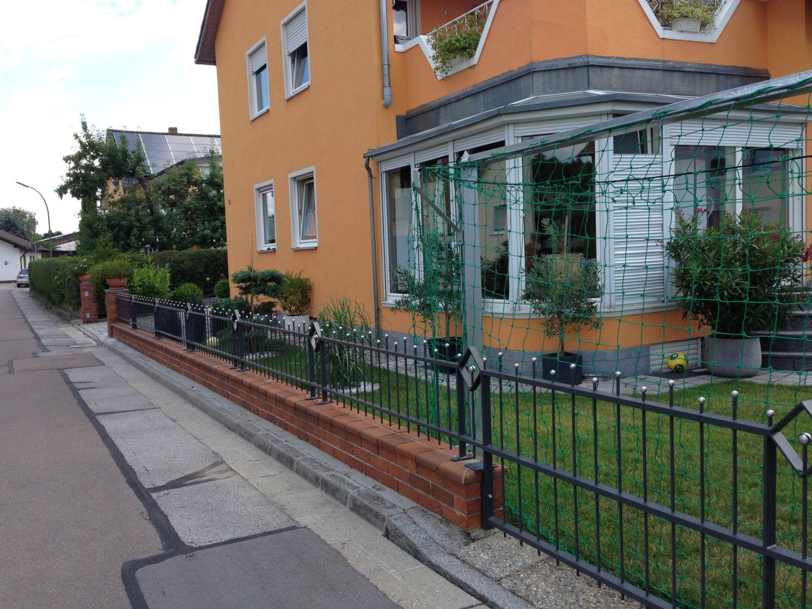 Metall Zaun von Kirchberger Metallbau