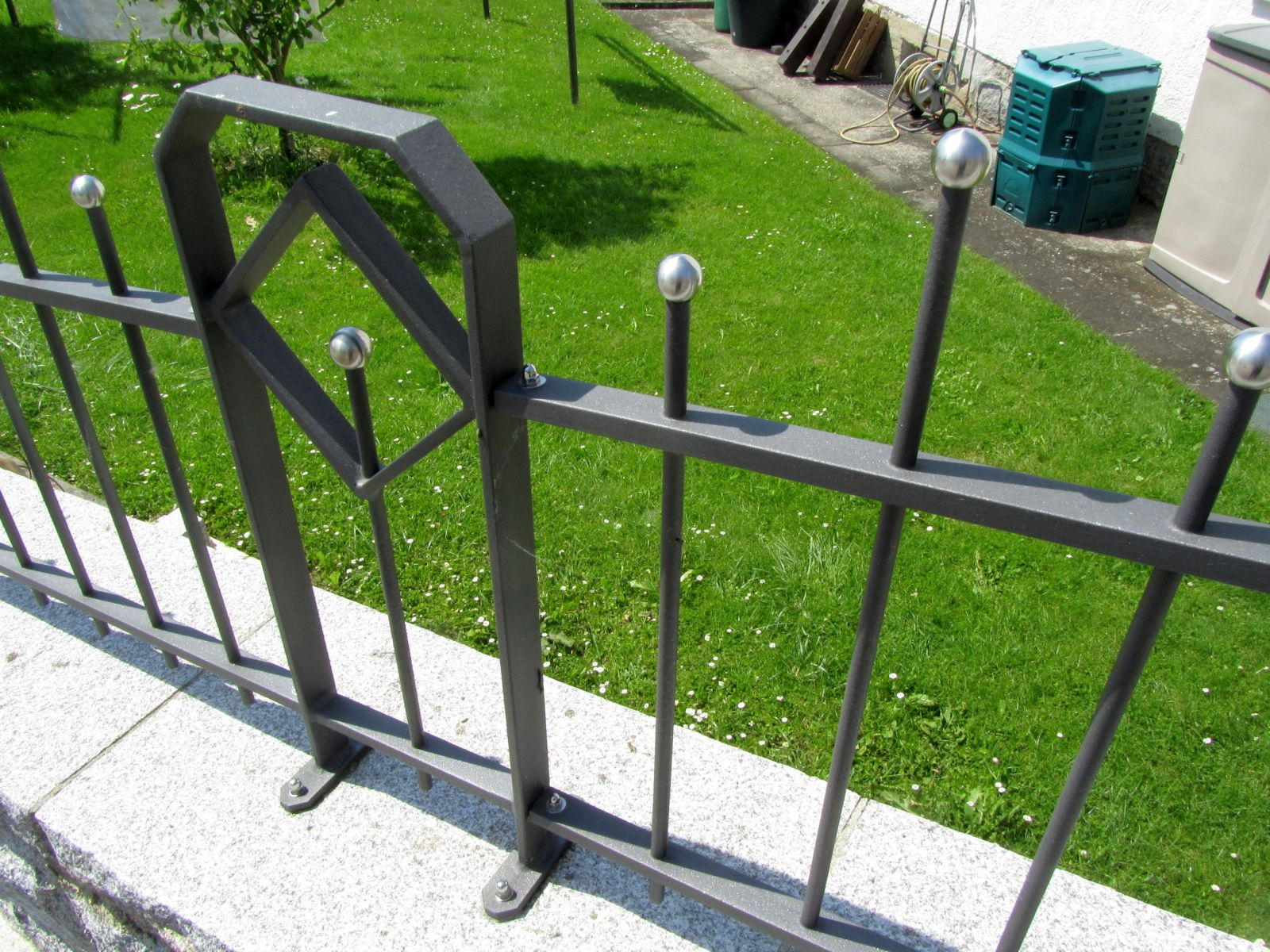 Moderne Gartenzaune Aus Metall Moderne Gartenzaune Das Sind Die