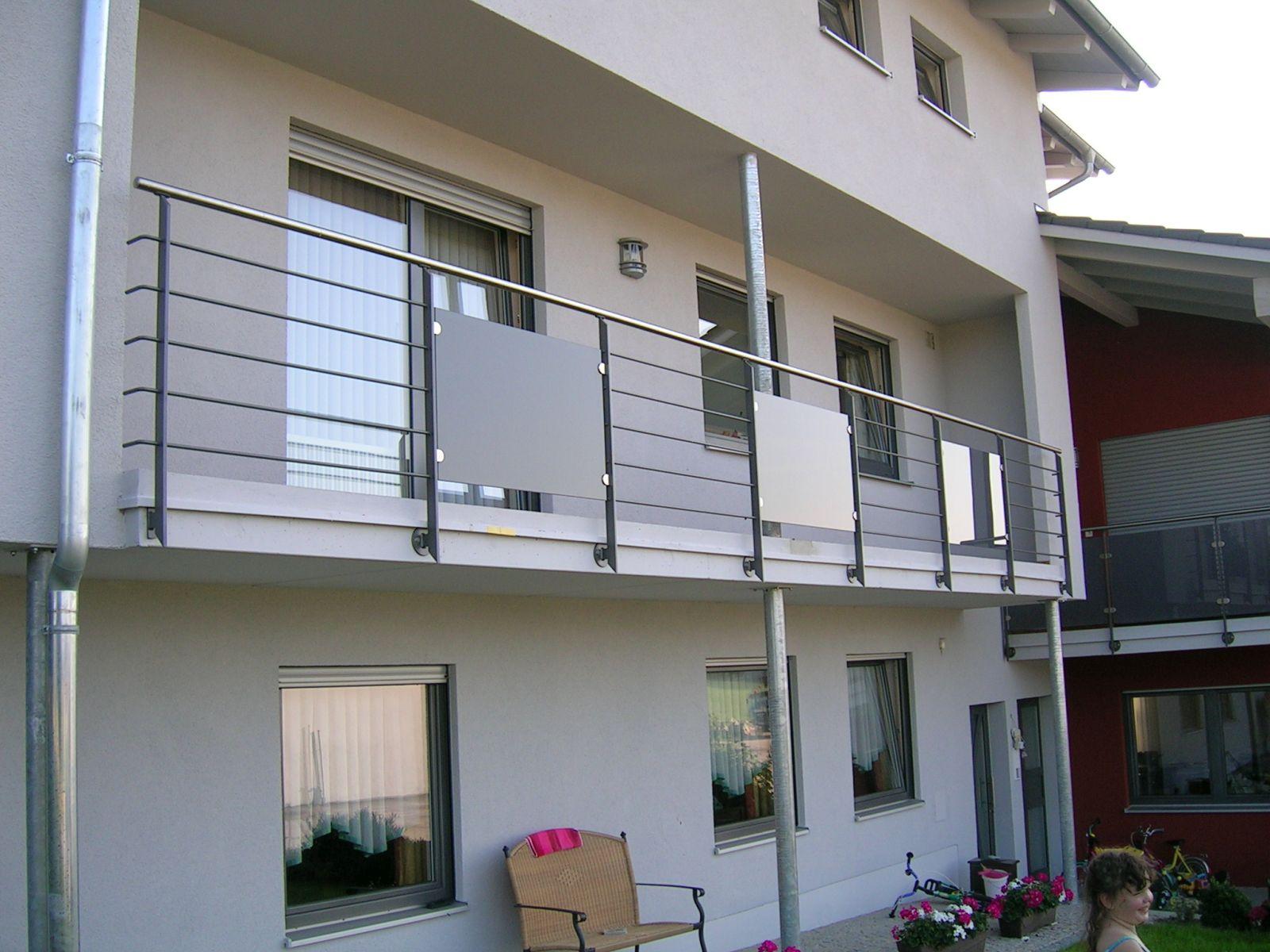 balkongel nder von kirchberger metallbau. Black Bedroom Furniture Sets. Home Design Ideas