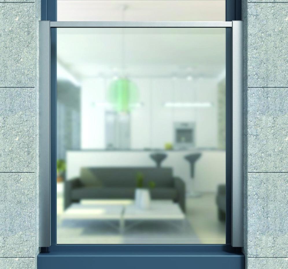 moderner franz sischer balkon mit glas h he 900 mm. Black Bedroom Furniture Sets. Home Design Ideas