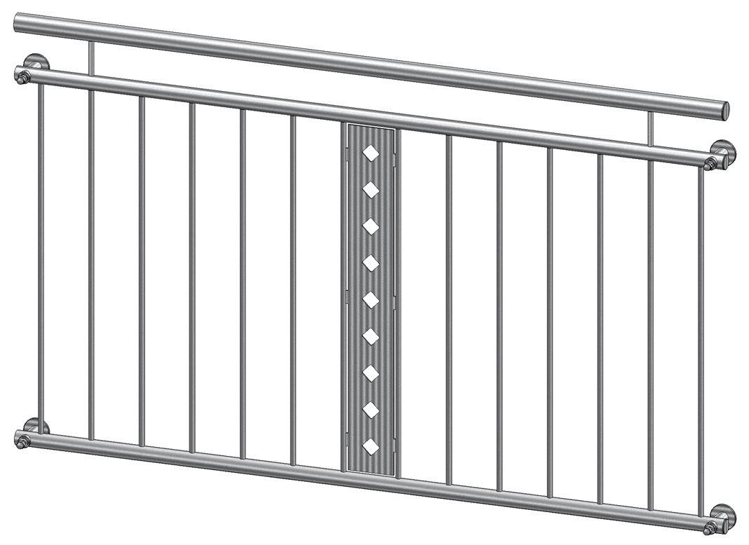 Franzosischer Balkon Zierblech Aus Edelstahl Kaufen