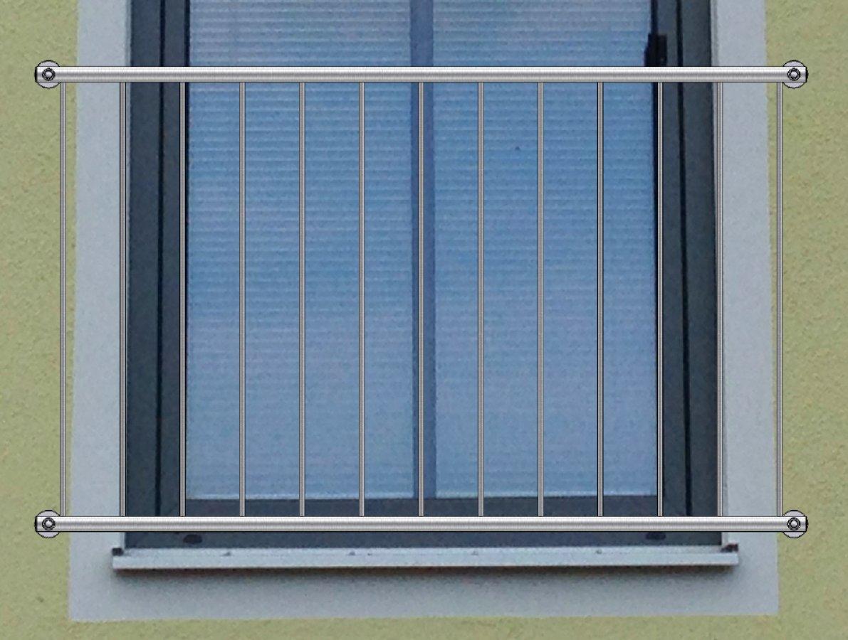 franz sischer balkon basic edelstahl jetzt bestellen. Black Bedroom Furniture Sets. Home Design Ideas