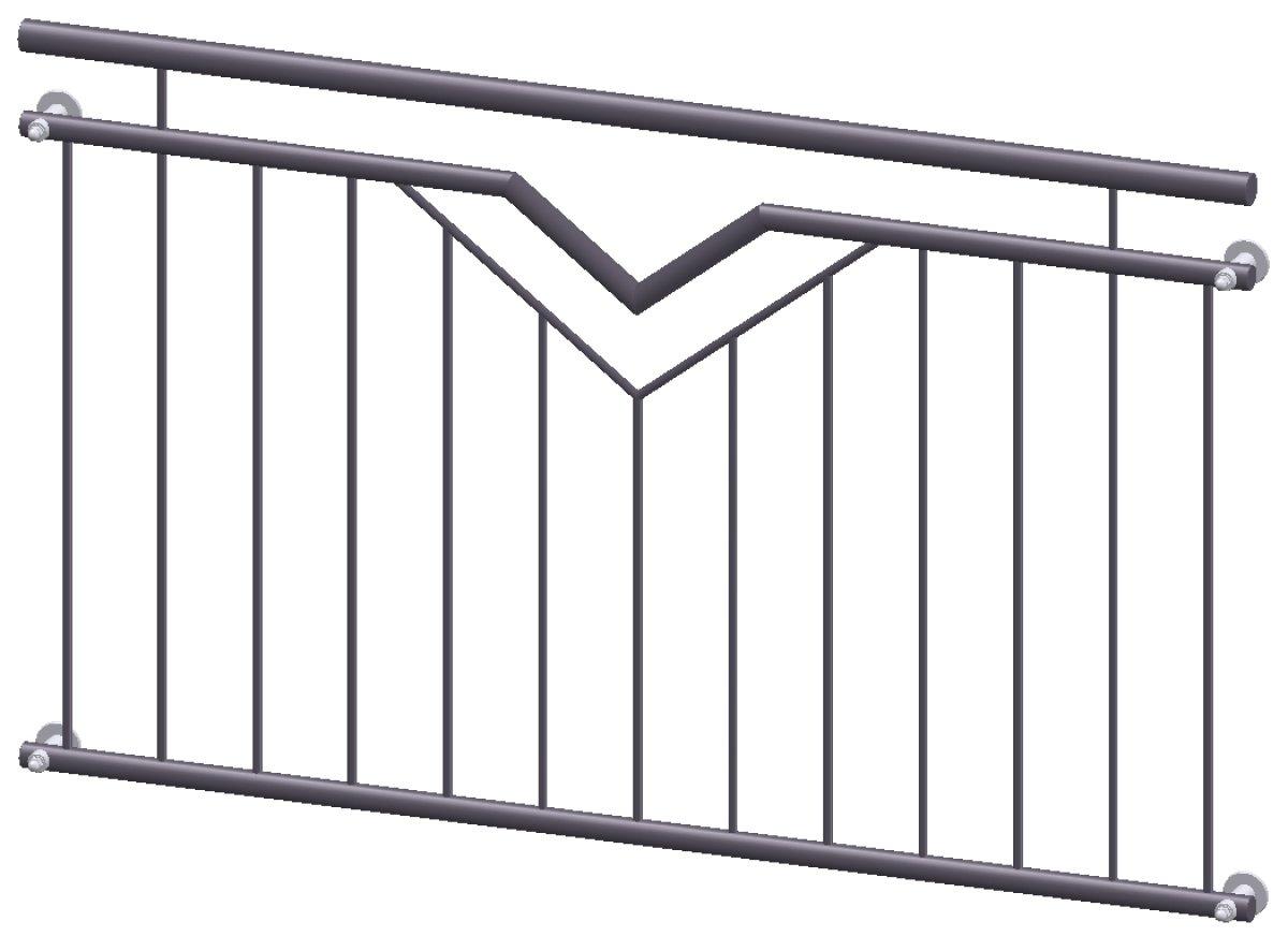 franz sischer balkon paris pulverbeschichtet online kaufen. Black Bedroom Furniture Sets. Home Design Ideas
