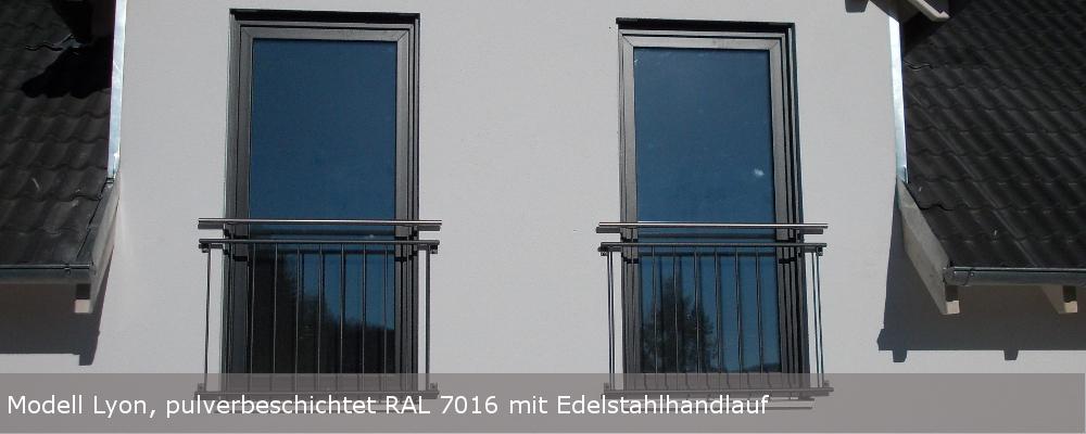 Französische Balkone nach Maß online kaufen | Kirchberger